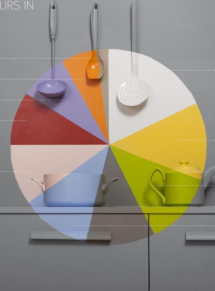 ¿Cuáles son los colores más usados en interiores en Pinterest?'