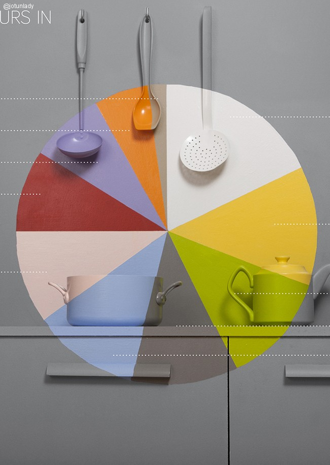 Colores más usados en interiores en Pinterest