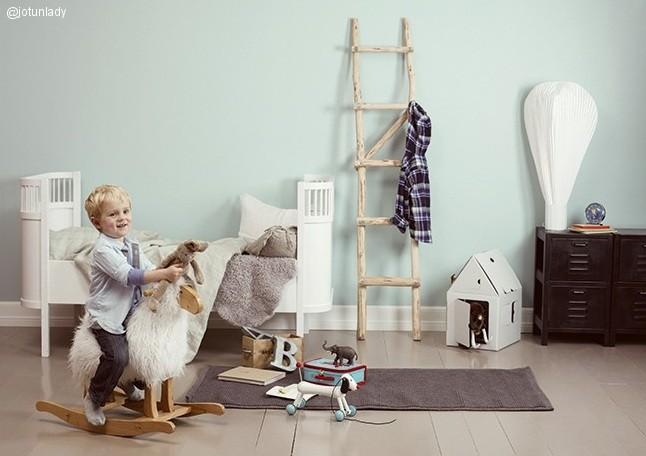 Habitación infantil azul