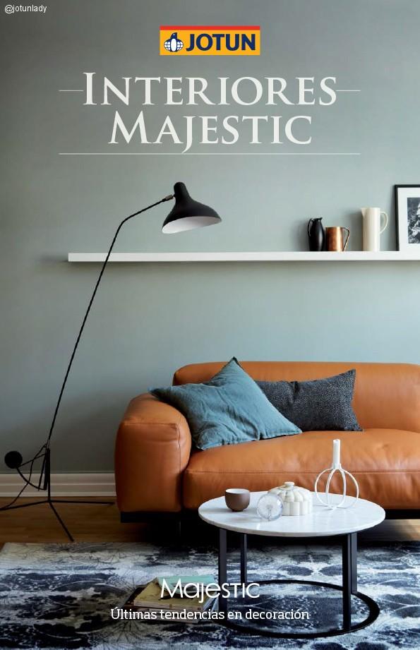 Nueva carta de colores Interiores Majestic para el equilibrio diario 2015