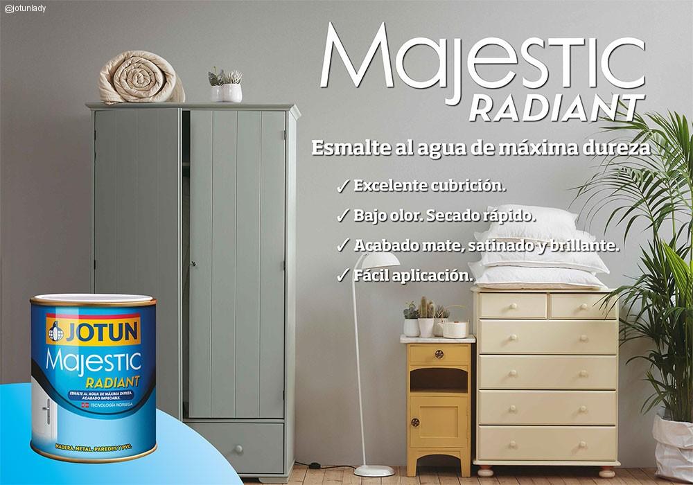 Nuevo Majestic Radiant, el esmalte al agua más innovador