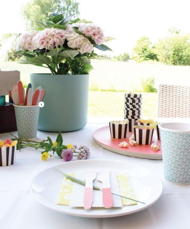 Ideas para decorar nuestras comidas de verano