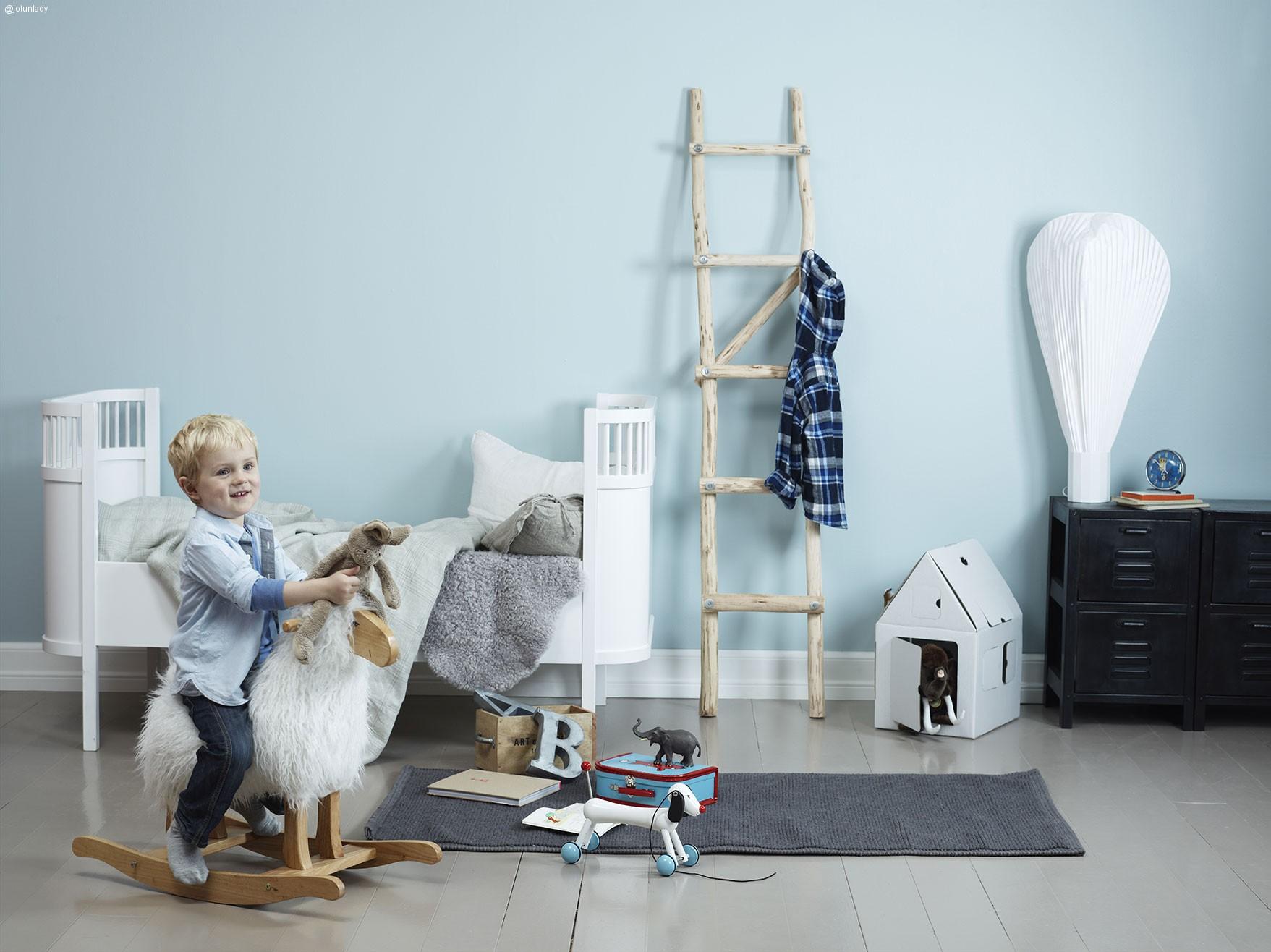 Inspírate para decorar habitaciones infantiles con esta simulación