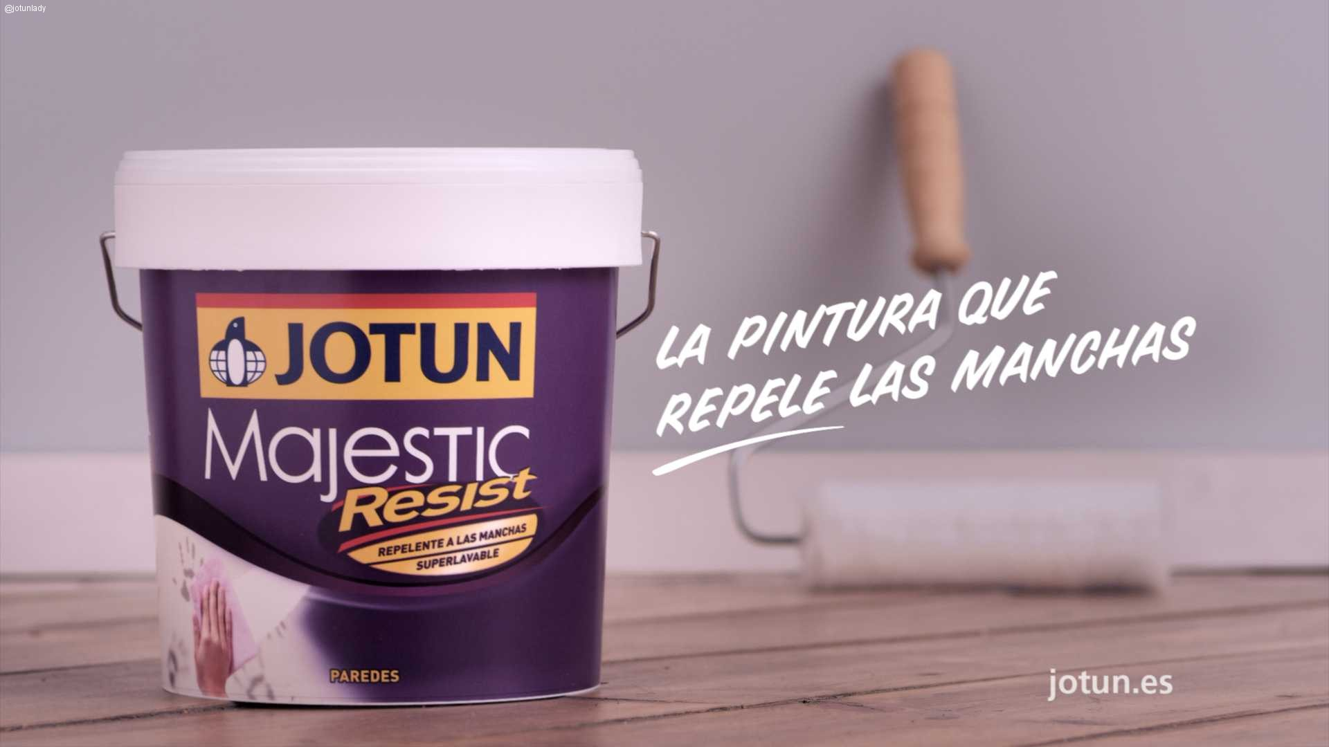Majestic Resist, la pintura superlavable con efecto pizarra