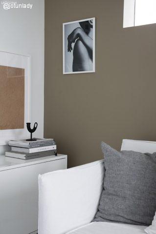 pintura pared tono cashmere