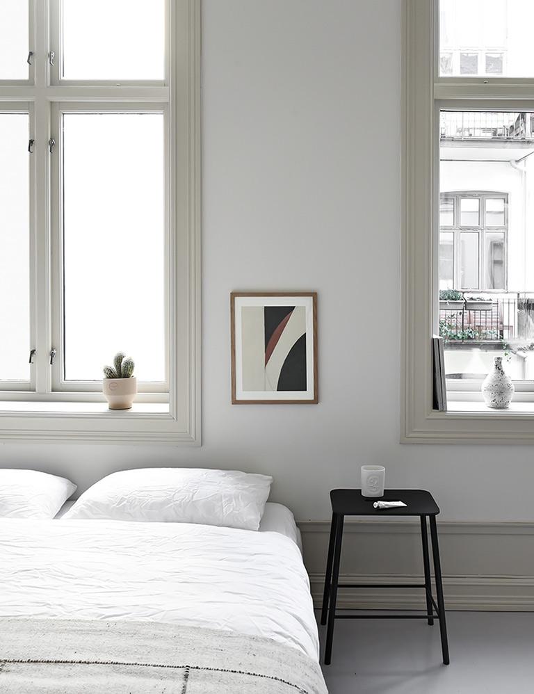 Sett farge på vinduslistene