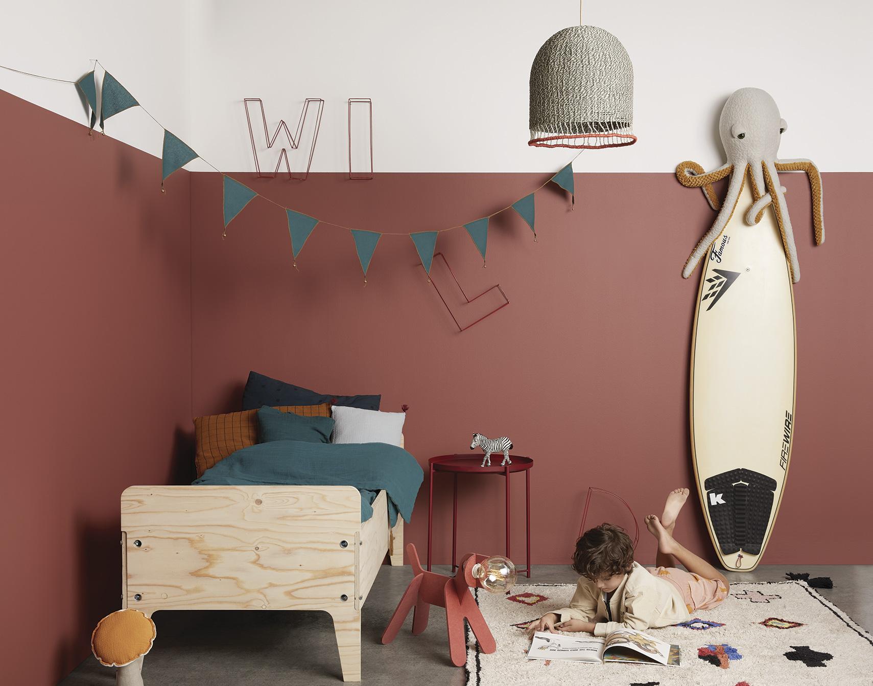 Colores de tendencia para pintar habitaciones infantiles