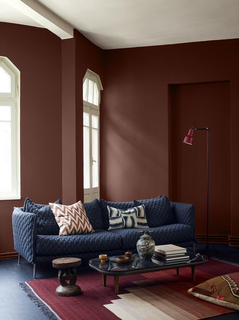 Elige tonos tierra para decorar tu hogar sin que pase de moda