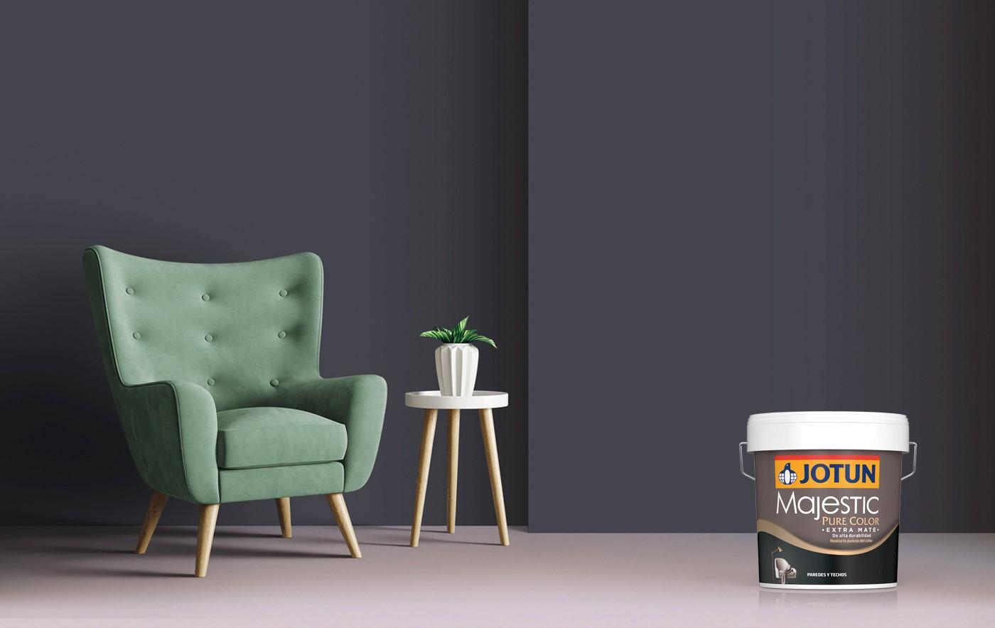 ¡Pinta tu casa con Majestic Pure Color, nuestra pintura extramate ecológica!